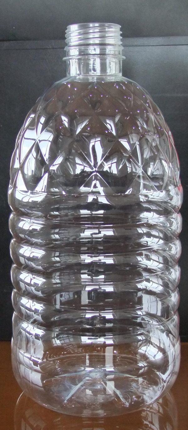 B12 بطری ۴ لیتری شفاف